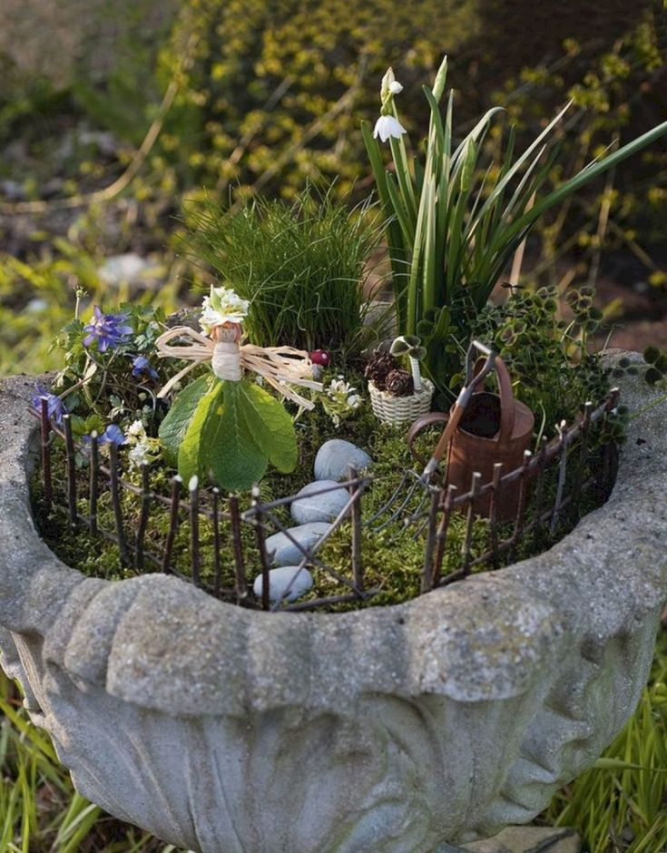 Garden Ideas From Recycled Materials 1014