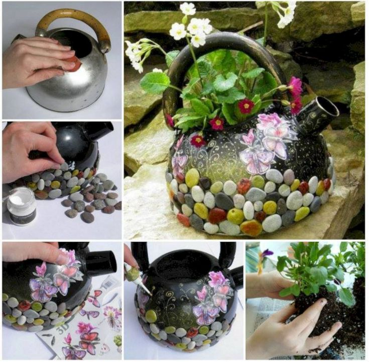 Garden Ideas From Recycled Materials 102