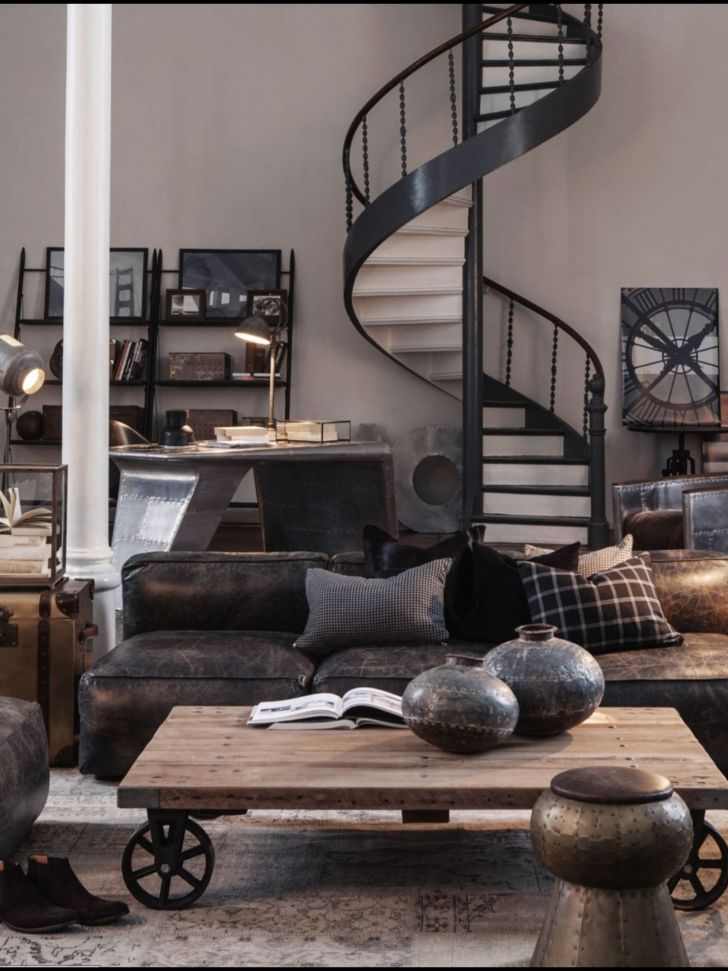 Industrial Shabby Chic Living Room