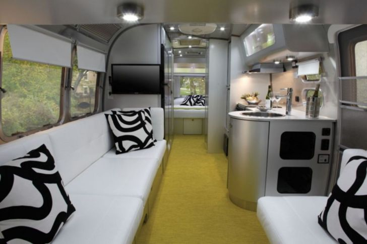 Modern Airstream Interior Ideas