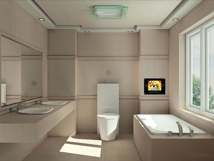 Amazing Modern Small Long Bathroom Design