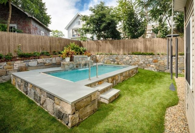 Backyard Swimming Pool Design For Small Spaces