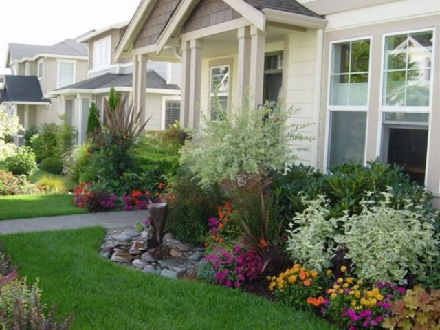 Beautiful Small Front Yard Landscaping Ideas