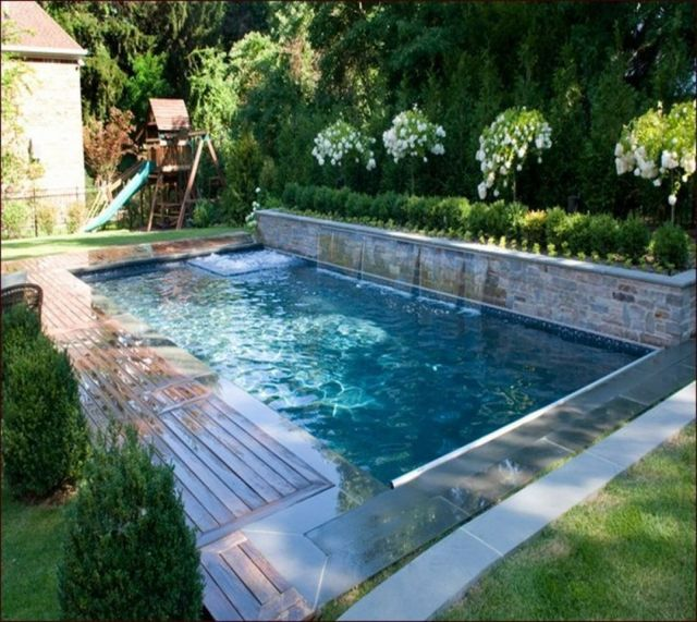 Best Backyard Swimming Pool Designs Latest Swimming Pool Designs for Backyard