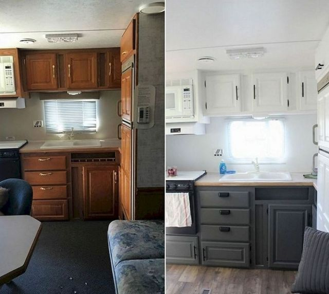 25 Best And Low-Cost Small RV Remodel Ideas With Before And