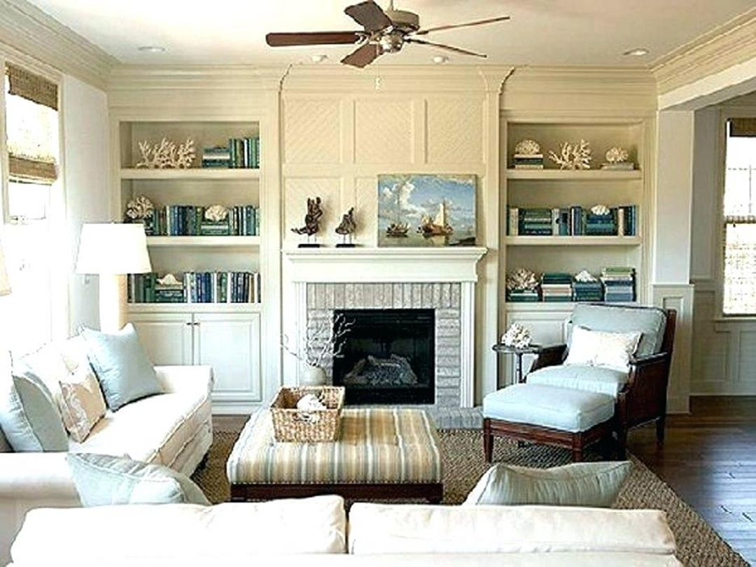 Make Your Fireplace Different Than Others With Bookshelves ...