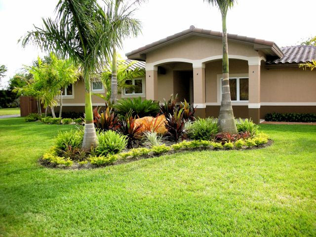 Front Yard Landscaping Ideas With Palm