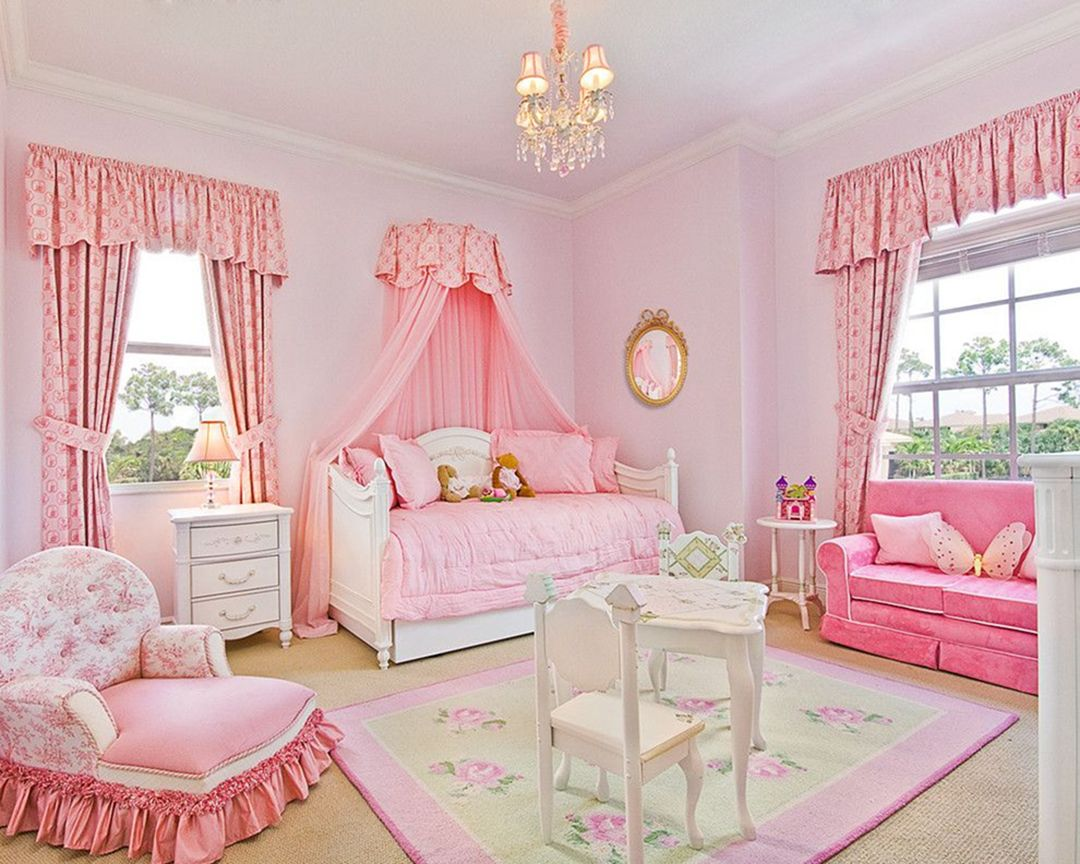 35 Pink Girly Bedroom Color Schemes That Will Make Everything More