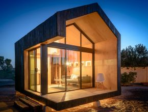 Small Luxury Dream Home Plans