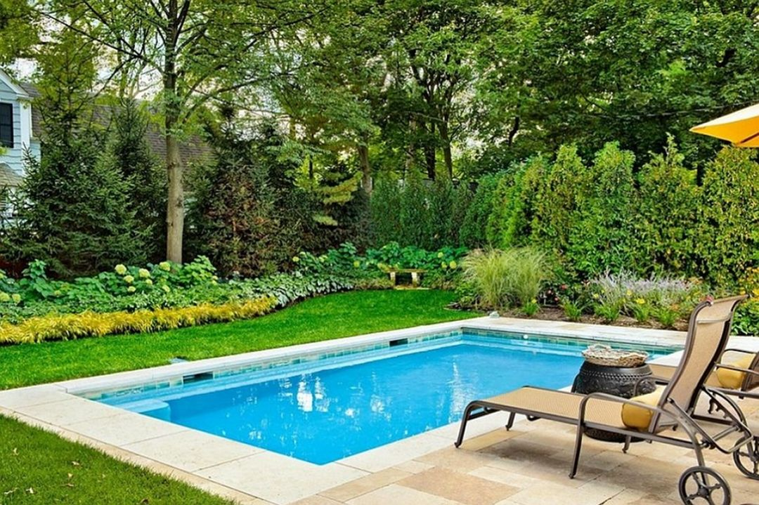 30 Fascinating Small Inground Pool Ideas For Your Backyard Dexorate