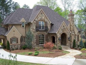 French Country Style Homes Design