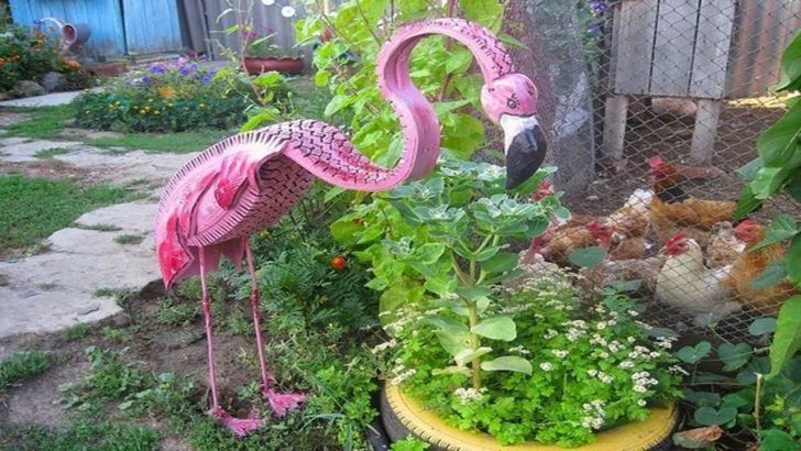 Old Tire Projects Garden Craft Ideas