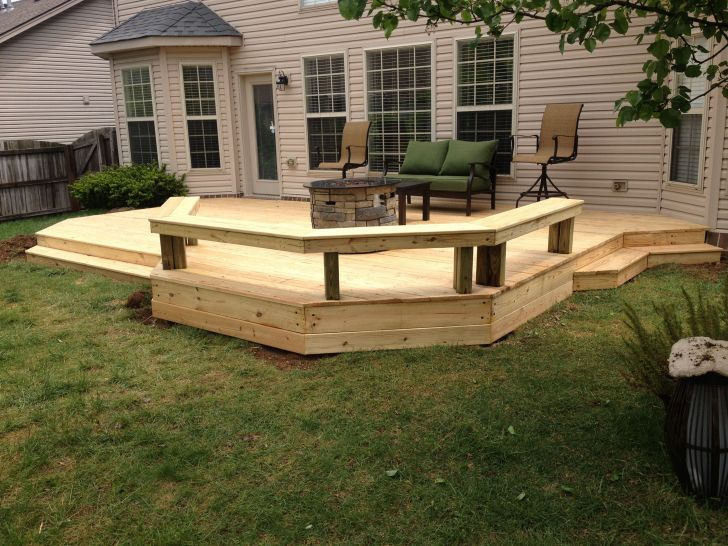 30 Impressive Wooden Deck Design Ideas for Your Backyard ... on Wood Deck Ideas For Backyard id=33572