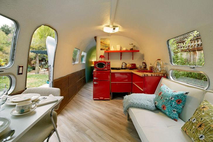 Airstream Interior Remodel With Vintage Ideas