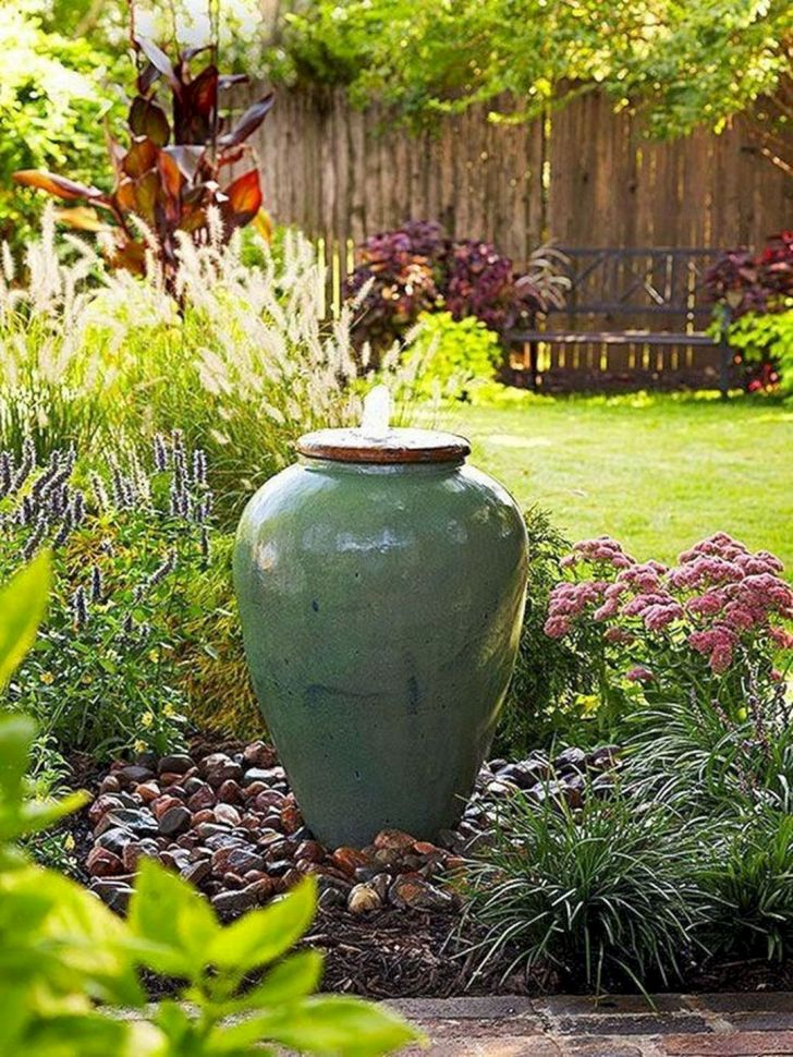 22 DIY Water Fountain Design For You Make Beautiful Garden ...