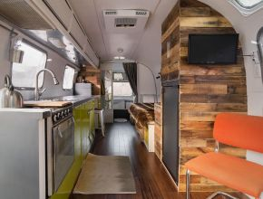 Lovely Vintage Airstream Interior