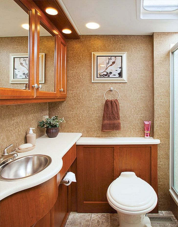 RV Bathroom Makeover