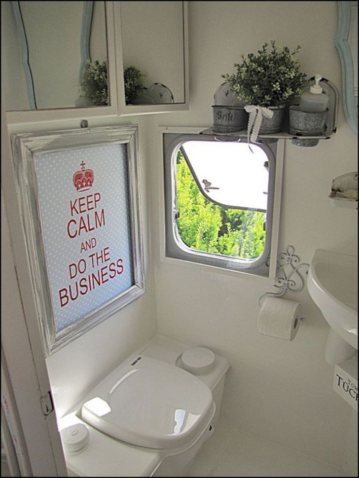 RV Bathroom Shower Ideas