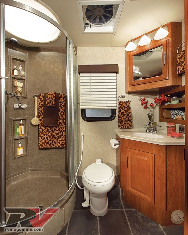 RV Bathroom Shower