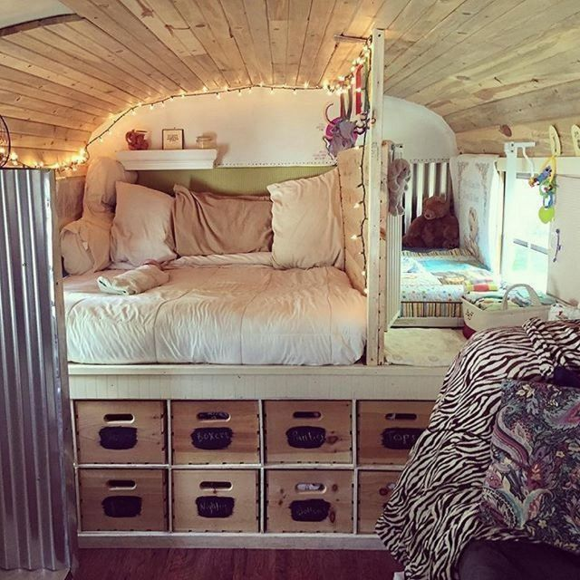 RV Camper Bedroom Makeover
