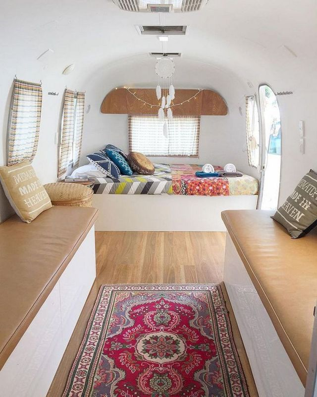 RV Camper Van Bedroom Remodel