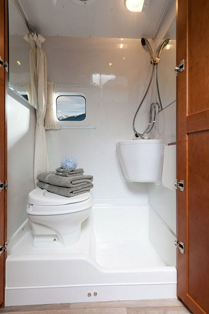 Small RV Bathroom Ideas