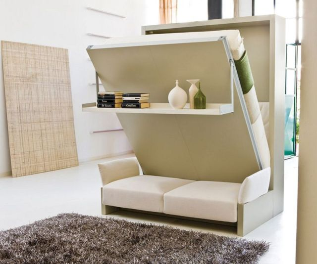Small Bedroom Multifunctional Furniture
