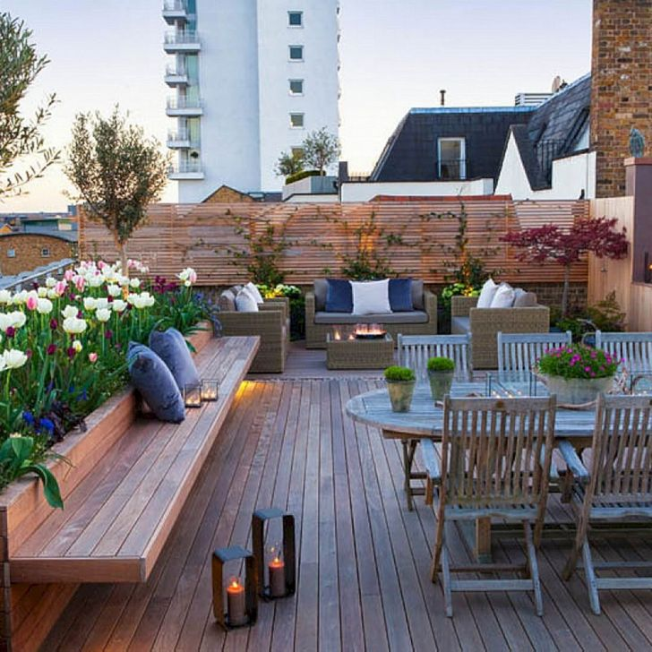 12 Marvelous Rooftop Garden Decoration Ideas You Never Seen Before