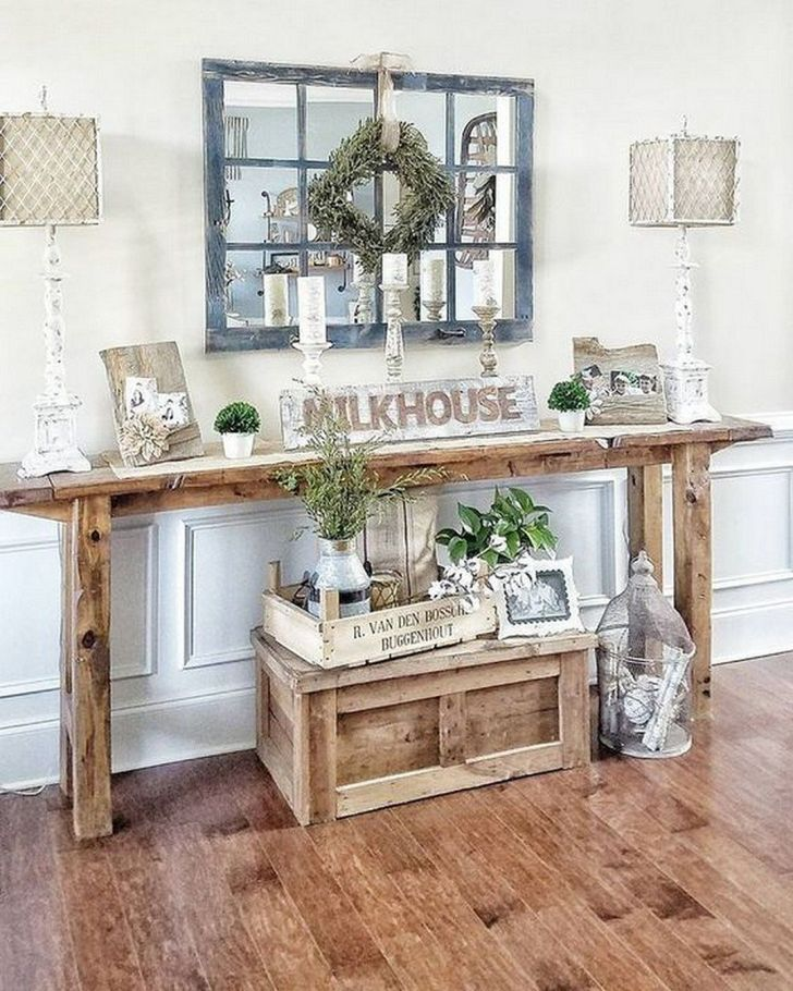 Rustic Homedecor Ideas: 12 Interesting Rustic Entryway Decorating Ideas To Look