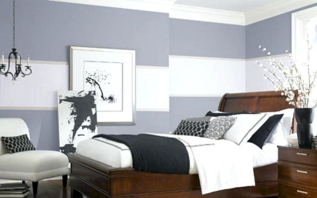 Awesome Bedroom Wall Paint Design