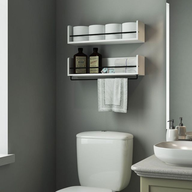 Bathroom Wall Shelves Idea