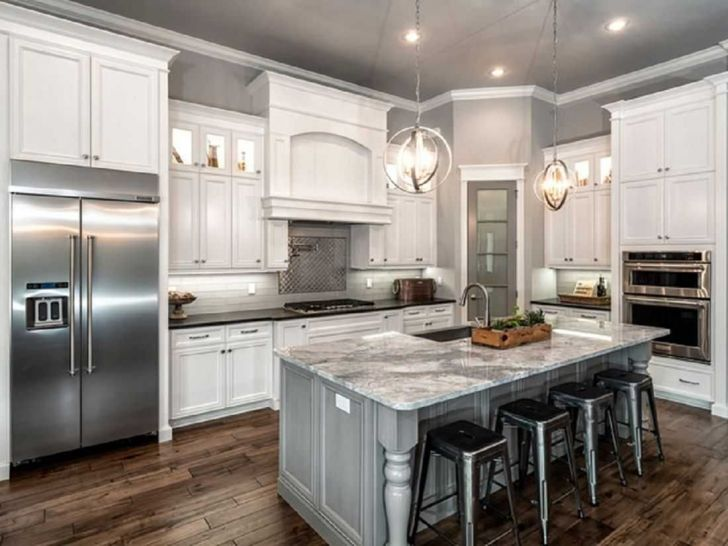 Kitchen Remodels With White