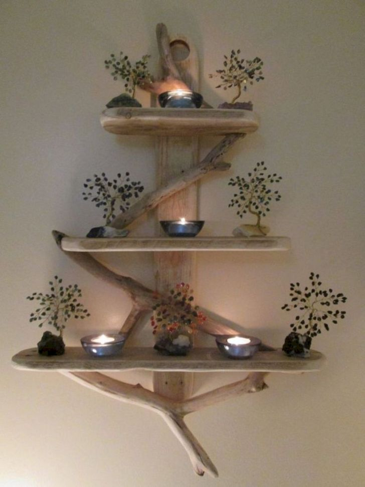 15 Unique DIY Rustic Wall Shelf Ideas For Awesome Home ...
