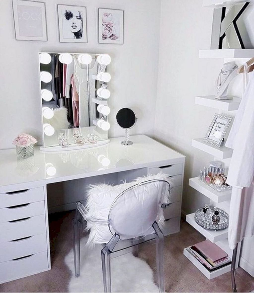 15 Impressive Diy Makeup Vanity Decoration Ideas That You Will Love It Dexorate