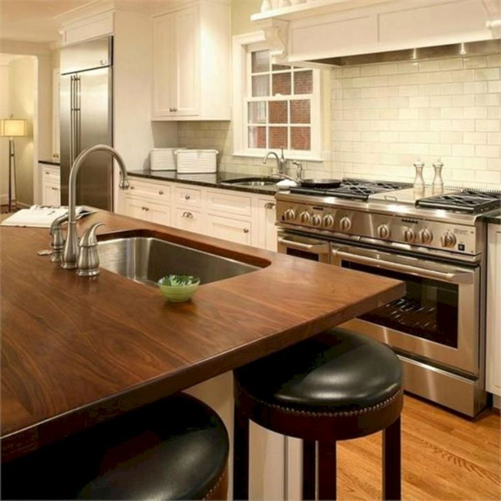 Wooden Kitchen Countertops Design Ideas