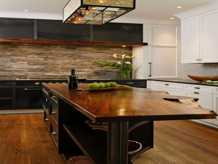 Wooden Kitchen Countertops Design