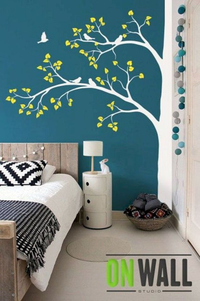 Elegant Tree Bedroom Wall Decor