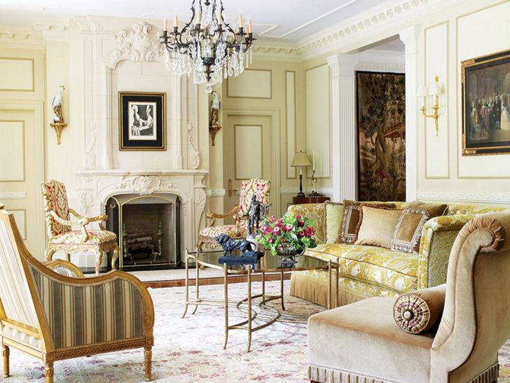 French Living Room Style