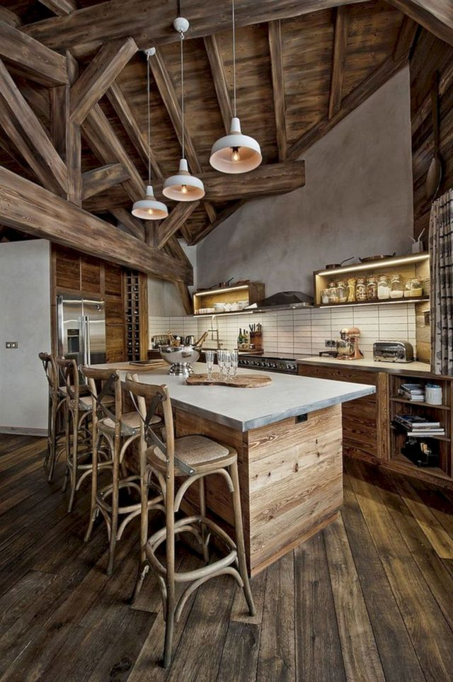 Beautiful Wooden Kitchen Ideas