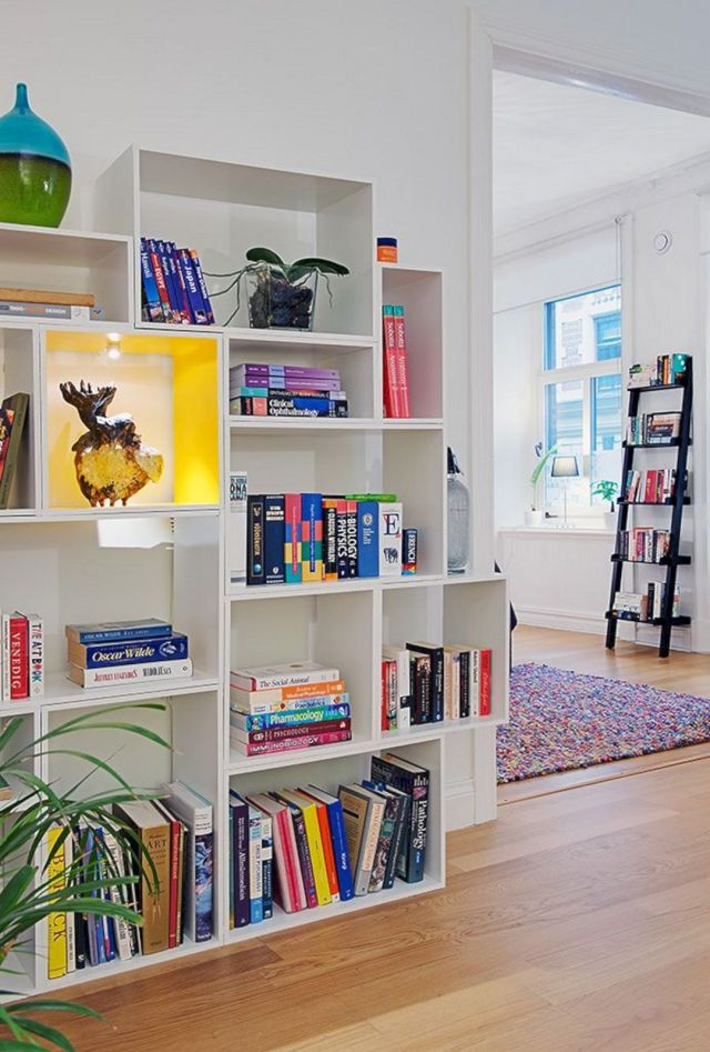 DIY Bookshelves Ideas