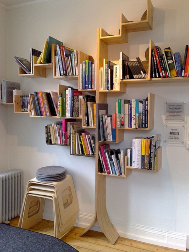 Wonderful DIY Bookshelf Ideas