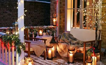 Awesome DIY Christmas Patio Ideas