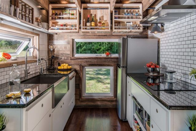 Beautiful Tiny Houses Kitchen Design Ideas
