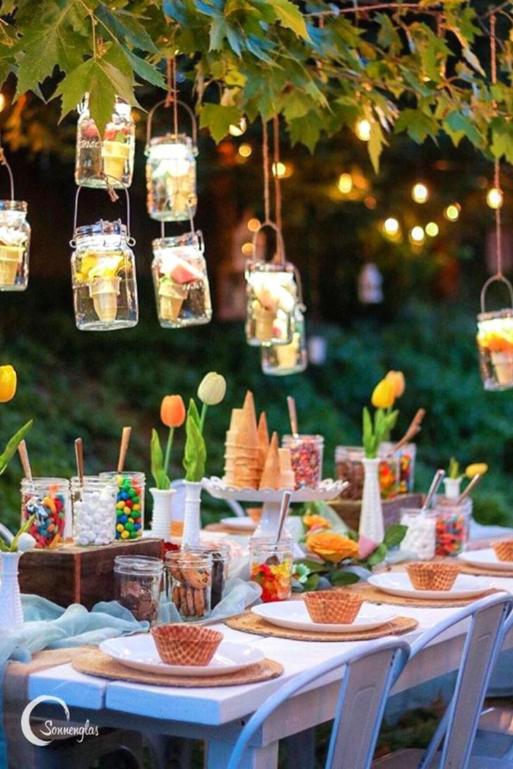 SUMMER BACKYARD PARTY DECORATION IDEAS FOR MORE CHEERFUL 15