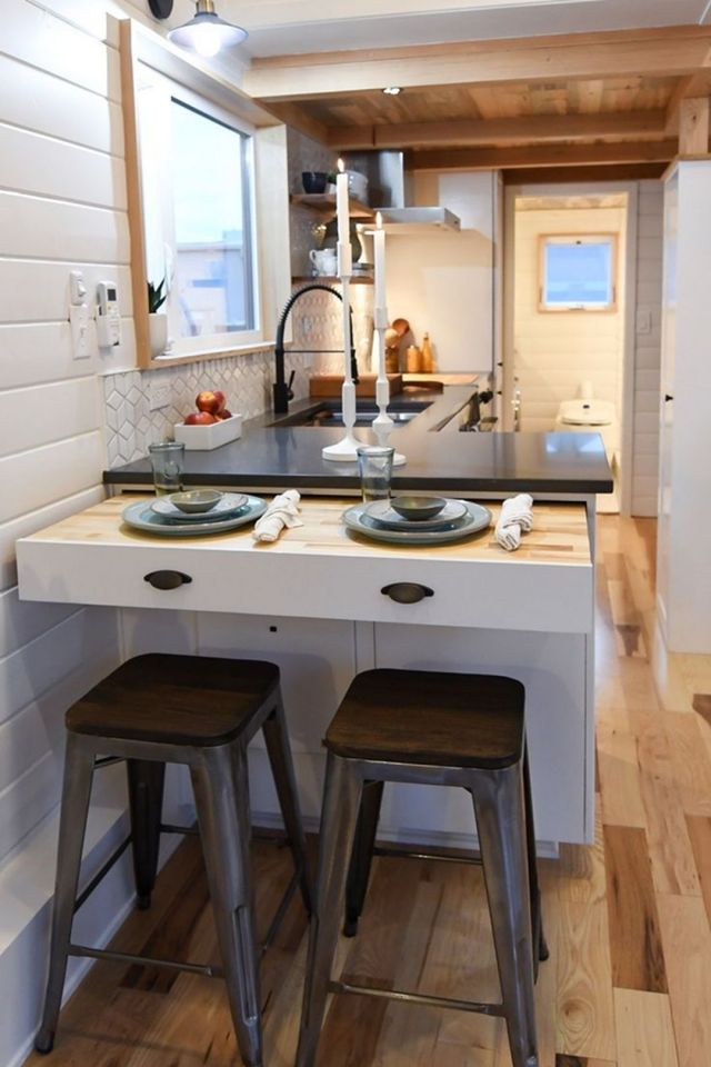 Tiny Home on Wheels Kitchen Design
