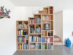 Unique Bookcase Design Ideas