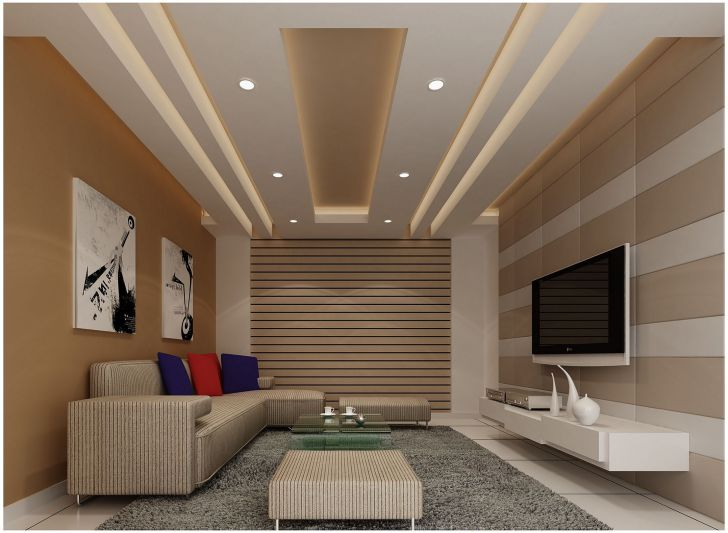 Incredible Living Home Ceiling Design