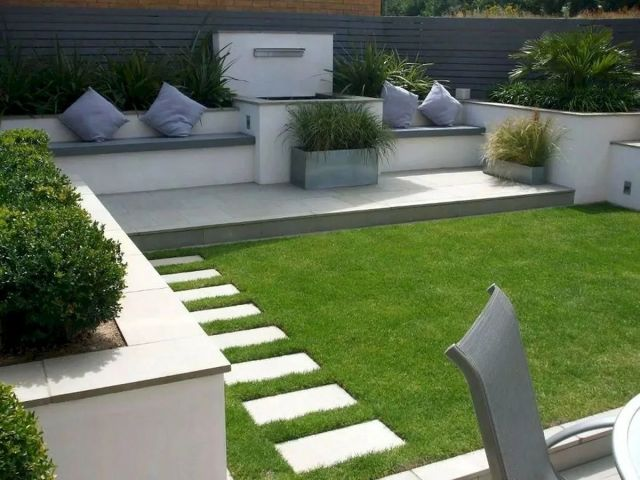 Modern Front yard Design Ideas