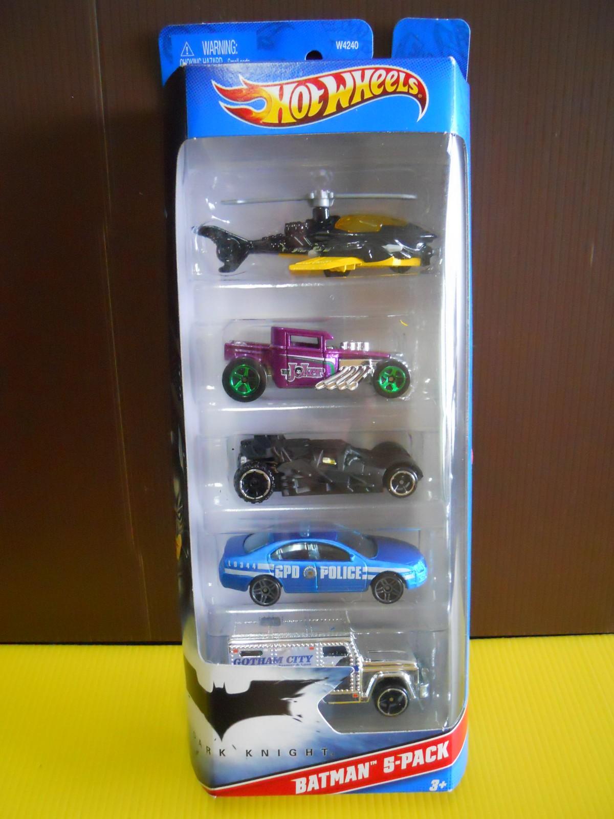 Hot Wheels Batman 5 Pack Dark Knight DextersDC