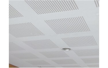 Perforated Gypsum Ceiling